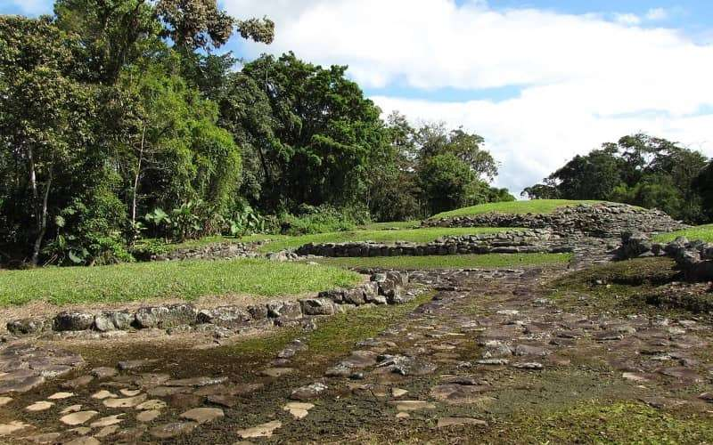 Guayabo de Turrialba is an archeological site located in Turrialba, within the Central Volcanic Conservation Area in the Cartago Province, Costa Rica. It is protected within the Guayabo National Monument.