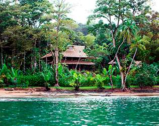 Copa de Arbol Resort eco lodge en Costa Rica