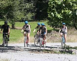 Biking Tour At Catie