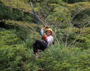 Canopy Tour In Sarapiqui