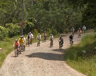 Biking Tour Through A Caribbean Village