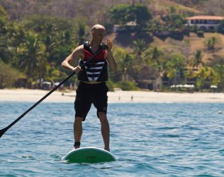 Stand Up Paddle Board Lesson From Tamarindo Are Min. 2 Pax