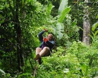 Costa Rica Titi Canopy Tour